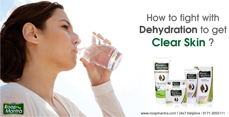 How-To-Fight-With-Dehydration-To-Get-Clear-Skin