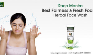 Roop Mantra – Best Fairness and Fresh Foamy Herbal Face Wash