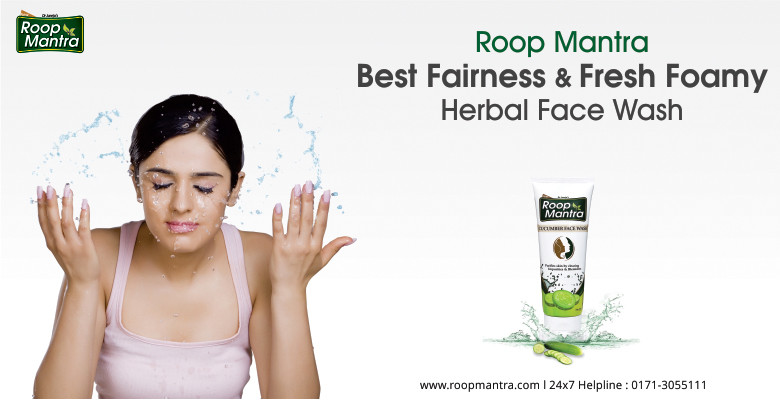 Roop-Mantra-Best-Fairness-And-Fresh-Foamy-Herbal-Face-Wash
