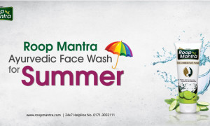 Roop Mantra Ayurvedic Face Wash for Summer