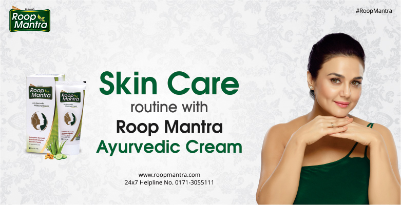 Skin-Care-Routine-With-Roop-Mantra-Ayurvedic-Cream