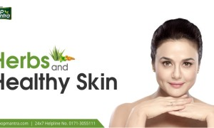 Herbs and Healthy skin