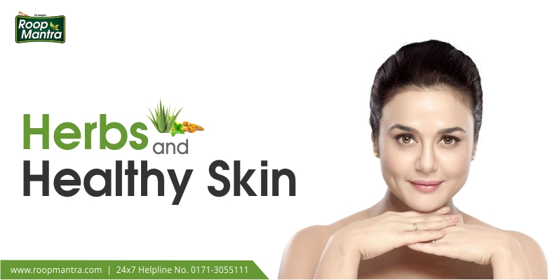 Herbs-and-Healthy-skin