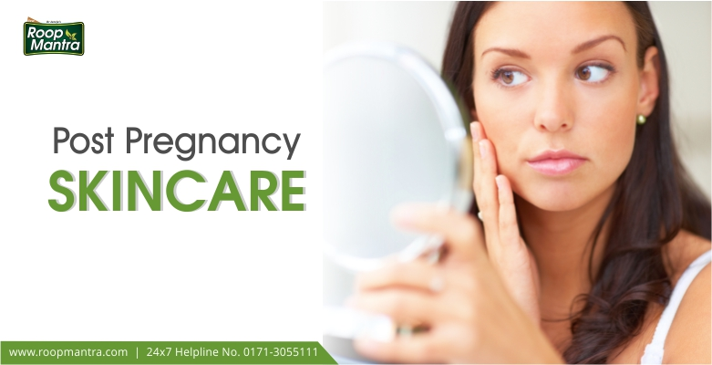 Post-Pregnancy-Skin-Care - Roop Mantra Banner