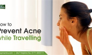 How to prevent acne while travelling