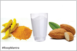 Milk-almond-and-turmeric-pack