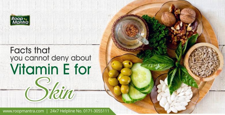 Vitamin E as a Skin Nutrient