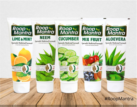 Roop Mantra Ayurvedic Face wash
