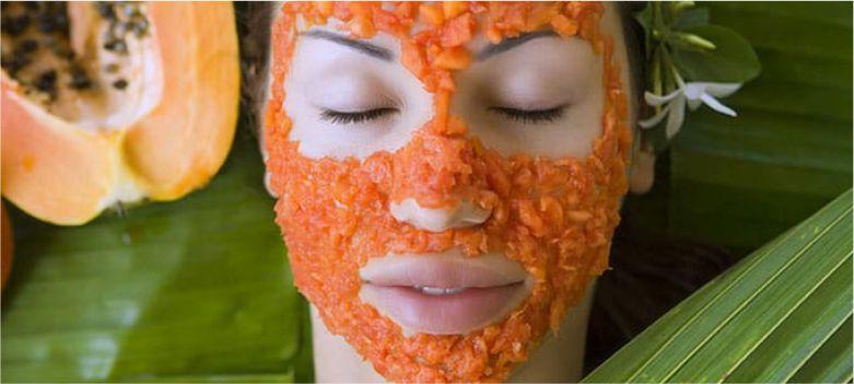 Papaya-face-pack-for-Face-to-make-Facial-Pores-Look-Smaller