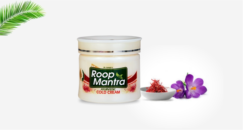 Use-Roop-Mantra-ayurvedic-cold-cream-to-Get-Rid-of-Dry-Skin