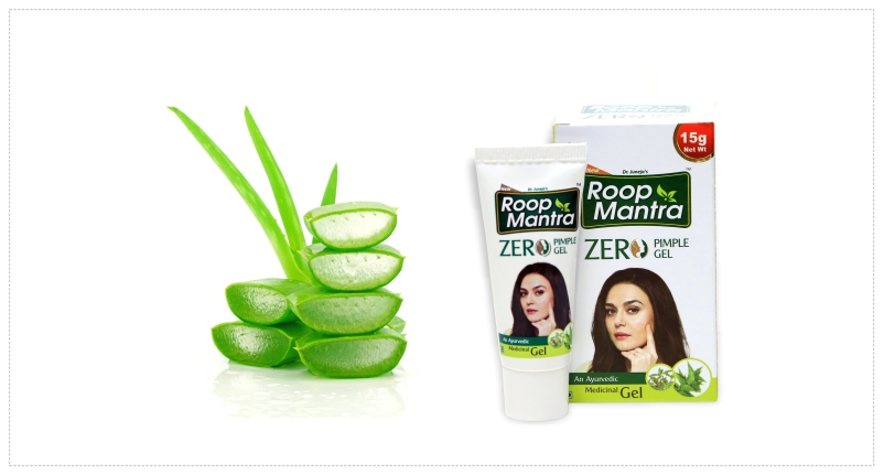 Use-roop-mantra-ayurvedic-zero-pimple-gel-to-Reduce-Pimple-Redness